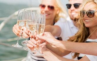 בראנץ קרוז ניו יורק - Jazzy Champagne Brunch Cruise