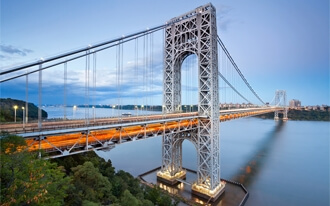גשר ג'ורג' וושינגטון - George Washington Bridge
